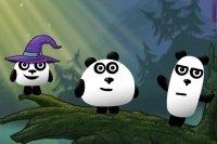 3 Panda di Fantasia