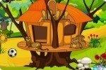 Arreda la capanna sull'albero