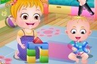 Baby Hazel e il suo fratellino