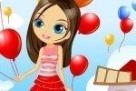 Bambina con palloncino