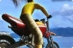 Biker da spiaggia