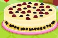 Cheesecake con praline di cioccolato