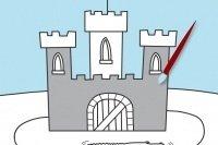 Colora il castello