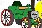 Colora il Trenino Thomas