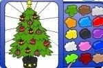 Colora l'albero di Natale