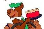Colora l'Orso Yoghi!