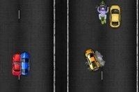Corsa in autostrada