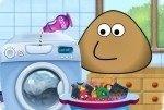 Fai il bucato con Pou