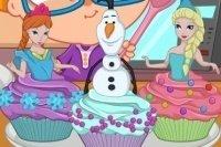 I cup-cake di Elsa