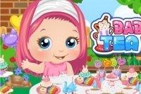 Il tea party di Baby Alice