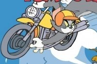 La motocicletta di Tom e Jerry