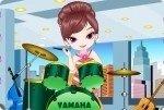 La ragazza della batteria