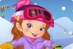 La ragazza dello snowboard
