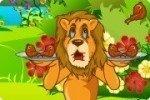 Leone affamato