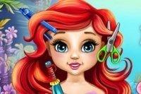 Le pettinature di Baby Ariel