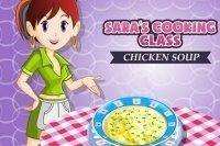 Lezione di cucina di Sara - La zuppa di pollo