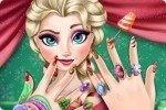 Lo smalto per unghie di Elsa