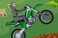 Ninja in moto