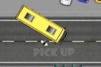 Parcheggia il bus alla fermata