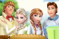 Picnic con Elsa e Anna