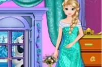 Pulizia del Castello di Elsa