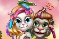Talking Tom e Angela Kapper
