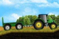 Trattore in fattoria
