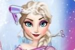 Elsa dalla parrucchiera
