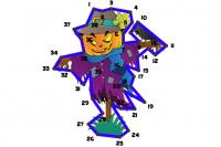 Line Puzzle di Halloween