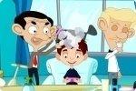 Mister Bean parrucchiere